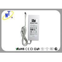 Wholesale LED lights Regulated Power Adapter with Bend Connector / White Shell from china suppliers