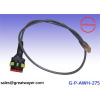 Wholesale Waterproof Connector Custom Cable Harness , Black Custom Wire Assemblies from china suppliers