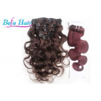 Wholesale Human Hair Body Wave Clip In Hair Extension No Shedding No Tangle from china suppliers