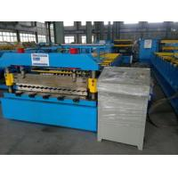 Wholesale 1250mm Feeding width Corrugated Roll Forming Machine  for Simple House from china suppliers