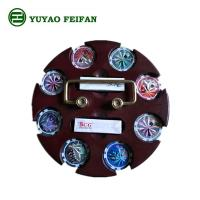 Wholesale SGS Approval Customized 200 Pcs Casino Poker Chip Sets With Round Wooden Tray from china suppliers