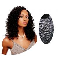 Wholesale Water Wave / Kinky Curly Human Hair Wigs100% Brazilian Body Wave Hair from china suppliers