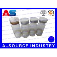 Buy cheap Frosted Small Glass Vials Rubber Stoppers Printed With Custom Logo from wholesalers