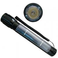 Wholesale Solar flashlight with 1pc super-white LED from china suppliers