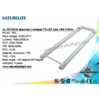 Wholesale U-bent Shape T8 LED Tube 5 Years Warranty 18W 2Ft for Corridor Lighting from china suppliers