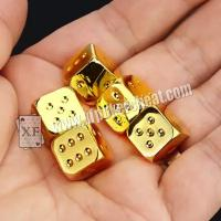 Buy cheap Regular Size Casino Magic Dice / Trick Permanent Numbers Dice For Private Game from wholesalers