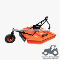 Wholesale 6RCM - Tractor Mounted 3point Rotary Cut Mower with PTO Shaft driven with Real wheel from china suppliers