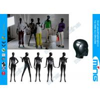 Wholesale Black FRP Dressmaker Female Body Mannequin with Stainless Steel Base from china suppliers