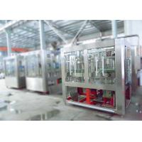 China Automatic Juice Filling Machine Non - Carbonated Drink Bottling Juice Equipment 110V on sale