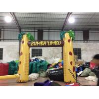 Wholesale Digital Printing Inflatable Advertising Signs / Inflatable Arch Palm Tree from china suppliers