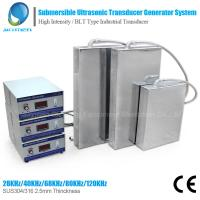 Wholesale 1800W Customized Submersible Ultrasonic Cleaner For Industrial cleaning from china suppliers