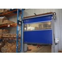 Wholesale Self resetting fuction High speed overhead doors rolling and gravity down operation from china suppliers