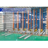 Wholesale High Density Automated Storage And Retrieval System Unit Goods Type With Stacker Crane from china suppliers
