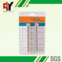 Wholesale Transparent Self Adhesive Solderless Bread Board ABS 25 Points from china suppliers