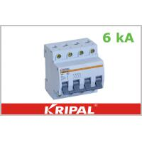 Buy cheap 1 Pole 2 Pole 3 Pole MCB Mini Circuit Breaker 6A 10A 16A 20A 25A from wholesalers