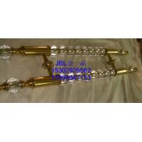 Quality modern design stainless steel and crystal door pull handle for sale