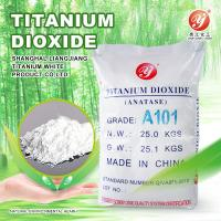 Wholesale high purity Titanium Dioxide Anatase A101 for coating from china suppliers
