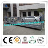 Wholesale ZLP800 Steel Suspended Worker Platform For Wind Tower Production from china suppliers