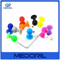 Wholesale Wholesale and custom logo silicone material suction cup mobile phone stand holder from china suppliers