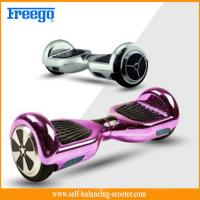 Wholesale Metallic 6.5'' Self Balancing Scooter Chrome Two Wheeled Electric from china suppliers