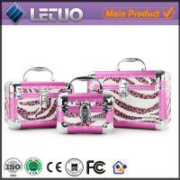 Wholesale LT-MCP0081 online shopping vanity beauty cosmetic makeup case aluminum hard handbag from china suppliers