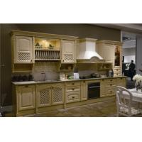 Wholesale melamine plywood Kitchen Cabinet with cheap price for apartment Project from china suppliers