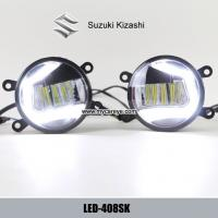 Wholesale Suzuki Kizashi front fog lamp replacement LED DRL daytime running lights from china suppliers