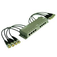 Quality 8CH CCTV UTP Power Video Data Combiner HD-Tvi Balun (PVD308H) for sale