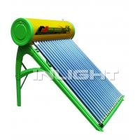 Quality 300L 36tubes  color steel unpressurized  solar water heater with 45° support for sale