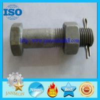 Buy cheap Special Hexagon bolts with holes,Bolt with hole, Bolt with Hole in Head ,Hex head bolts,High tensile hex bolt with hole from wholesalers