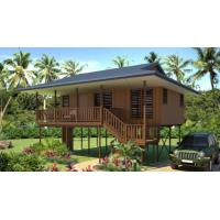 Wholesale new design Moistureproof Wooden House Bungalow / SAA Home Beach Bungalows from china suppliers