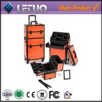 Buy cheap China wholesale diamond croc make up beauty cosmetic makeup trolley case makeup case empty from wholesalers