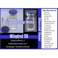 Buy cheap Steroid Liquid Water Based Oral Milky Winstrol 50 Oil Based Injection Clear Winny 50 For Bodybuilding from wholesalers