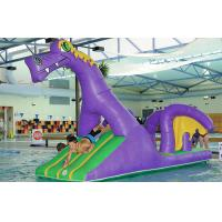 Wholesale Creative Purple Dragon Water Obstacle Slide For Swimming Pool Games from china suppliers