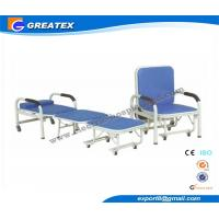 Wholesale Mult - Purpose Hospital Accompany Sofa Foldable Chair with Six silent castors from china suppliers