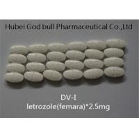 Wholesale Letrozole 2.5mg Femara Anti Estrogen Steroids Ai Combat Breast Cancer Treatment from china suppliers