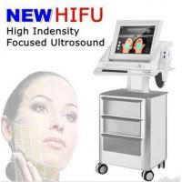 Wholesale 4Mhz / 7Mhz stationary HIFU Machine for wrinkle removal / eye wrinkles from china suppliers