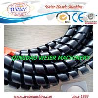 Wholesale Exported to Europe market of PP PE Spiral Wrapping tubes plastic pipe extrusion line from china suppliers