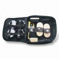 Wholesale Shoe Polish Set with 2 Pieces Long Armed Teeth Brush and Yellow Cloth from china suppliers