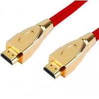 Wholesale High Speed HDMI Cable with Gold Connector, Metal Connector, Double color Connector from china suppliers