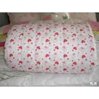 Wholesale Red Patterned Microfiber Filling Custom Home Comforters with 100 % Cotton Outer Fabric from china suppliers