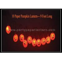 Wholesale Eco - friendly Lovely Indoor Paper Lantern String Lights Round Shape 9 Foot Size from china suppliers