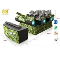 9D Simulator Virtual Movie Theater 6dof Electric System With 6 Luxury Seats
