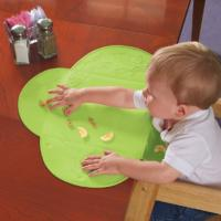 Wholesale Not Drop Out LFGB  Silicone Baby Bibs Placemat With Suction Cup Design from china suppliers