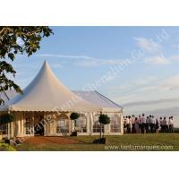 Wholesale Decorated Luxury Wedding Tents Marquee With Noble / Gorgeous Linings from china suppliers