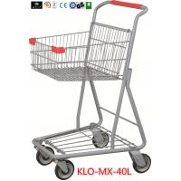 Wholesale Chrome Plating Grocery Shopping Trolley 40L / Supermarket Shopping Carts from china suppliers