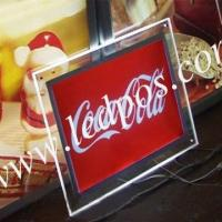 Wholesale Coca Cola Tabletop Crystal Acrylic Light Box from china suppliers