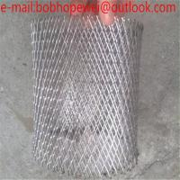 Wholesale Galvanized/PVC Coated small hole expanded metal mesh/Flattened Low Carbon Steel Expanded Metal Mesh/metal expanded mesh from china suppliers