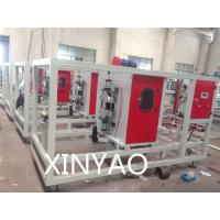 Wholesale Automatic Plastic pipe cutting machine for pipe extrusion line Working by saw blade from china suppliers