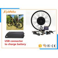 Wholesale Fastest Rear Wheel Electric Bike Conversion Kit With Battery 48v from china suppliers